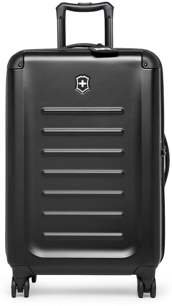 Victorinox Spectra 2.0, Moyen extensible, 4 à roues chariot cas, en marine {62-91 litres}