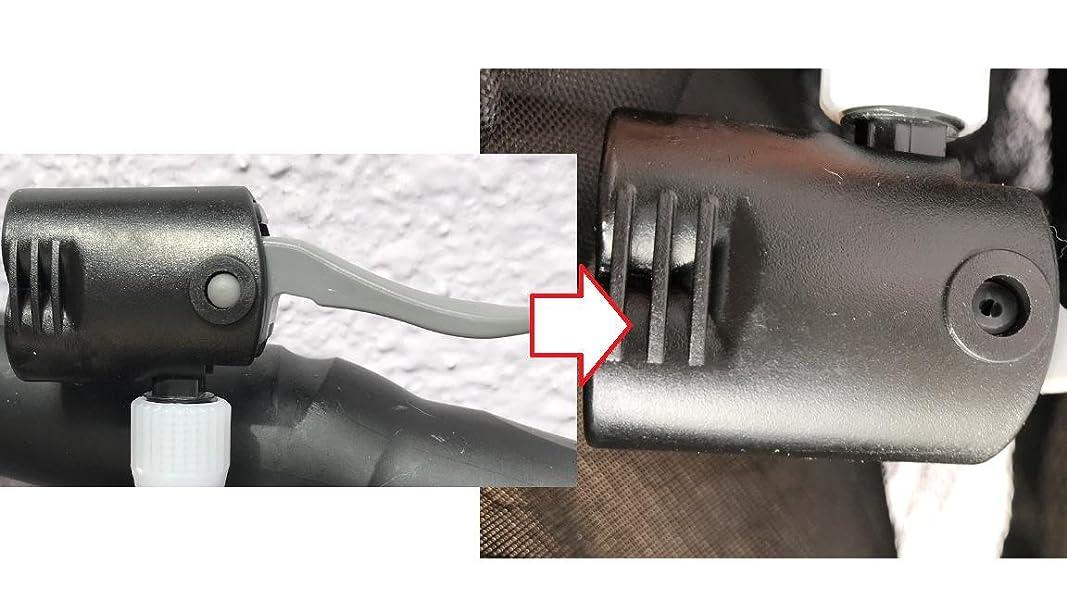 高圧空気入れ-フロアポンプ-エアゲージ付-ボートバルブアダプター-ロードバイク対応【一年間保証】