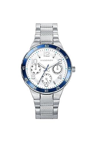 Reloj Viceroy Multifunción Niño 401059-15 Acero Multifunción Comunión: Amazon.es: Relojes