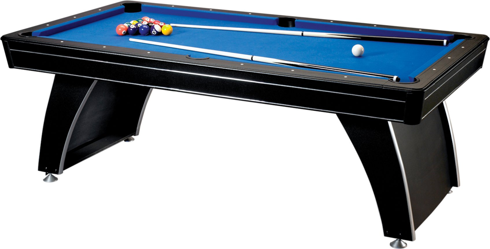 Fat Cat Phoenix MMXI 3-in-1, 7-Foot Game Table (Billiards, Slide Hockey and Table Tennis) by Fat Cat by GLD Products