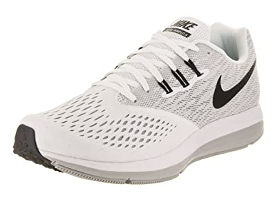 cf0e4e8d99e7b ... netherlands nike mens zoom winflo 4 running shoes white black wolf grey  a35bf 15780