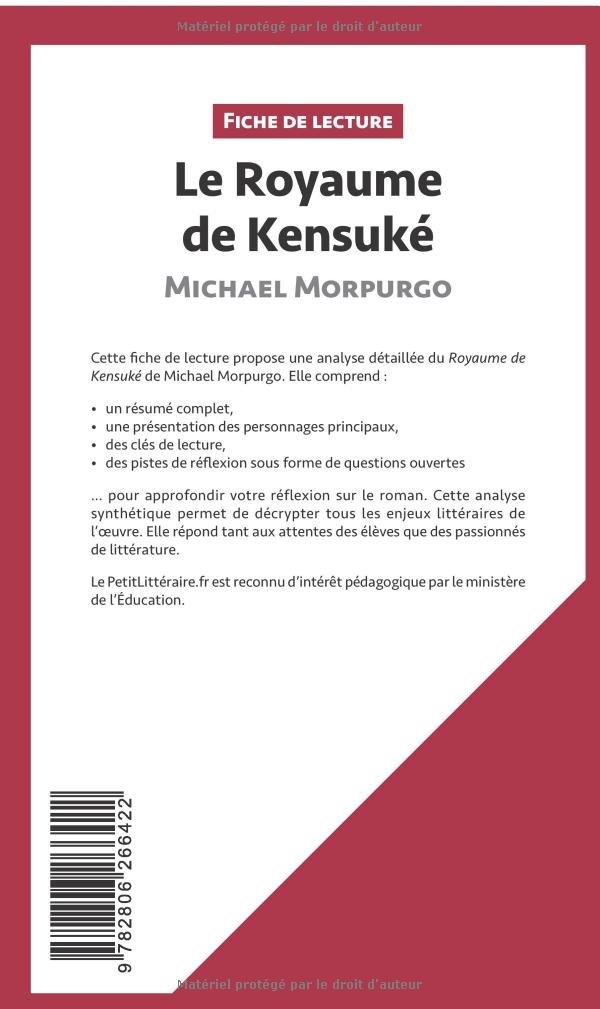 Le Royaume De Kensuke De Michael Morpurgo Resume Complet Et