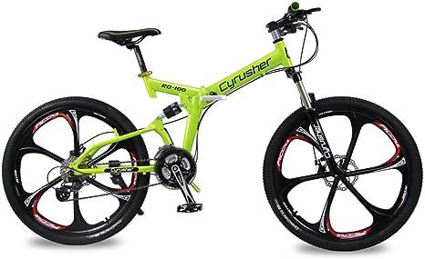 Bicicleta de montaña Flu-Green RD100 Cyrusher®, marco plegable de ...