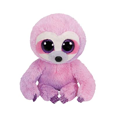 Ty 36287 15 cm Dreamy Purple Sloth-Beanie BOOS, Multicolored: Toys & Games