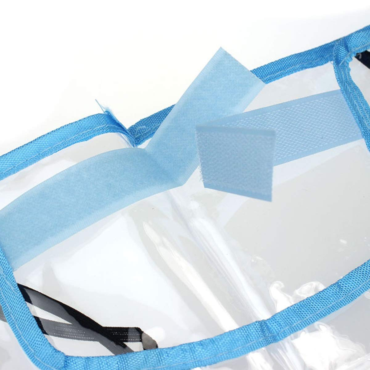 SH-RuiDu Direct Store Housse de Protection de Dossier de si/ège de Voiture Color : Blue Border Tapis antid/érapant pour Enfants Kick Mat Clean