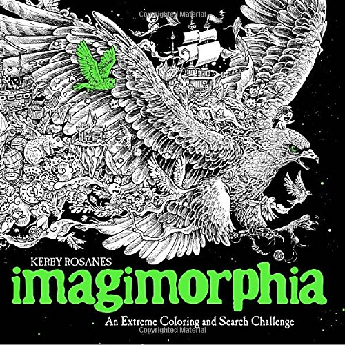 Price comparison product image Imagimorphia: An Extreme Coloring and Search Challenge