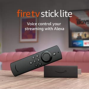 Introducing Fire TV Stick Lite with Alexa Voice Remote Lite | HD streaming device | 2020 release