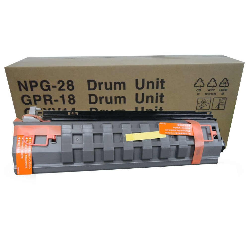 Aotusi Compatible Drum Unit Replacement for Canon GPR 18 NPG 28 CEXV 14 for use in Canon Copier IR 2016 2116 2020 2420