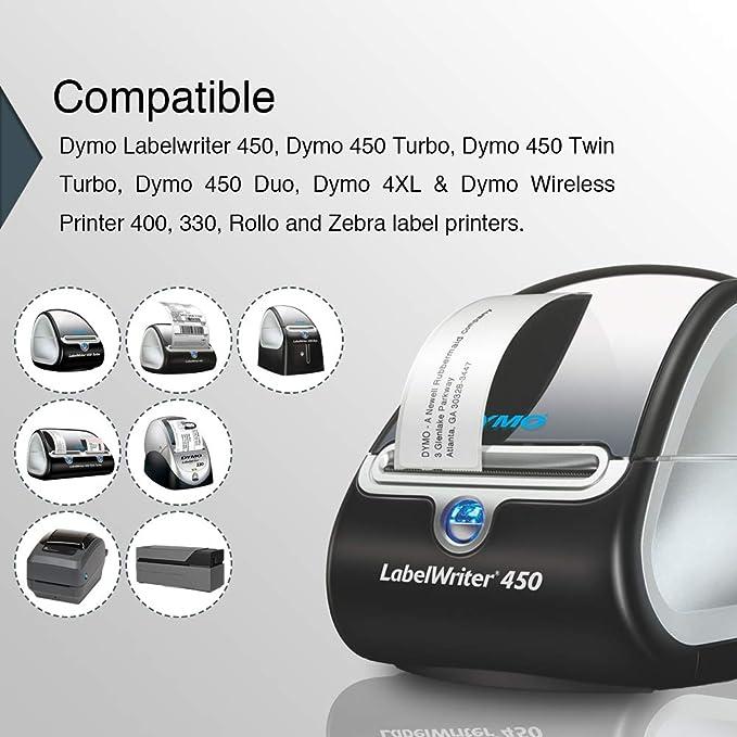 3x Kompatibel Etiketten Rollen für Dymo 11352 Adressetiketten-Drucker Pro Serie