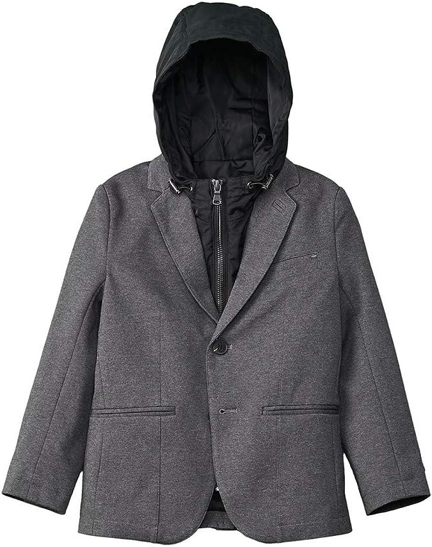 BOSS Boys Two-in-one Milano Blazer and Nylon Jacket, Sizes 6-16