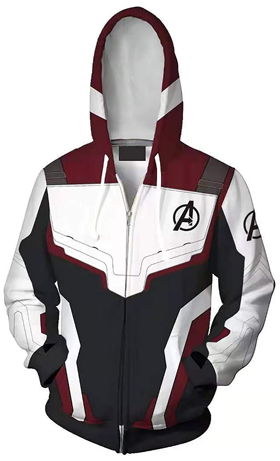 The Avengers 4 Endgame 3D Hoodie Cosplay Costume Sweater Jacket T-shirt Pants