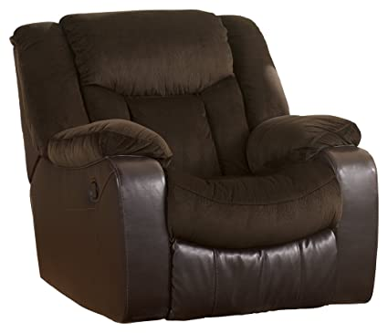 Charmant Ashley Furniture Signature Design   Tafton Recliner   Pull Tab Manual  Reclining   Contemporary   Java
