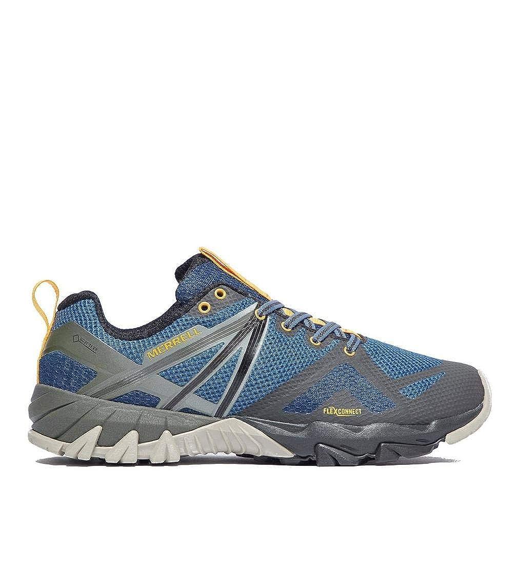 Bleu Merrell MQM Flex GTX Chaussures de Course sur Sentier pour Homme 43 EU