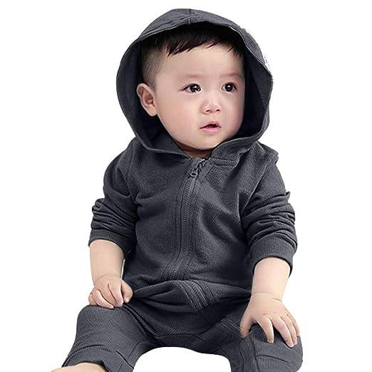 722307d8b Amazon.com  SUPERON Newborn Baby Boys Girls Cartoon Dinosaur Hoodie ...