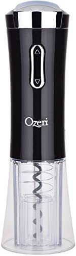Ozeri-Nouveaux-II-Electric-Wine-Opener-in-Black,-with-Foil-Cutter