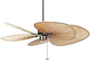 Fanimation FP320AB1 Islander 5 Blade Ceiling Fan in Antique Brass