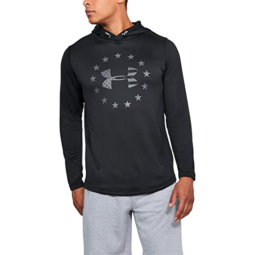 e7df12b5 Amazon.com: Under Armour Men's Freedom tech Terry po Hoodie: Clothing