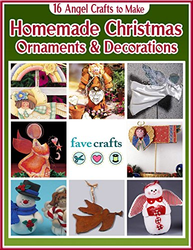 Homemade Christmas Crafts (16 Angel Crafts to Make: Homemade Christmas Ornaments & Decorations)