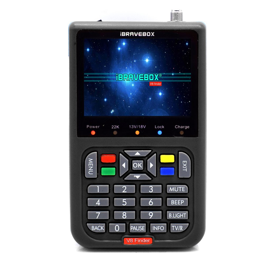 Leepesx V8 Finder Digital Satellite Finder With 3.5 inch LCD Digital Display by Leepesx