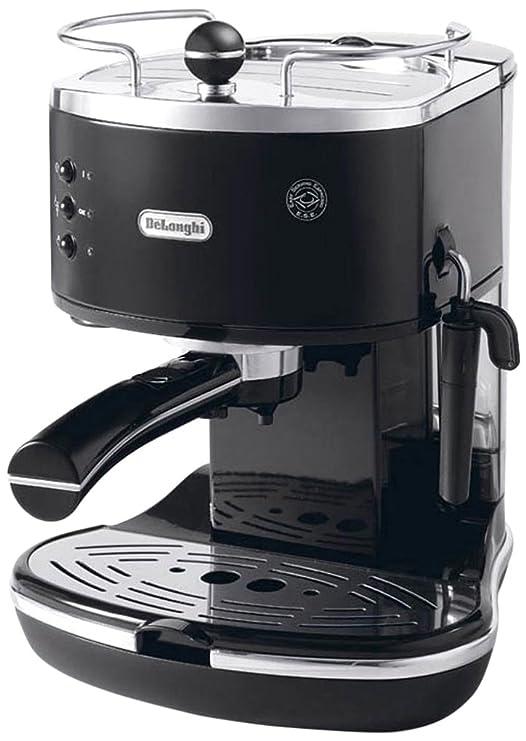 DeLonghi ECAM25.462.B Cafetera automática con reservorio de agua extraible, 1450 W, 1.4 L, negro