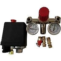 Ballylelly 90-120PSI presión ajustable compresor de aire Cambiar el conjunto de válvula de control 002