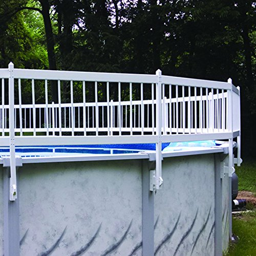 Ground Swimming Pool Safety Fence KIT C - 2 spans ()