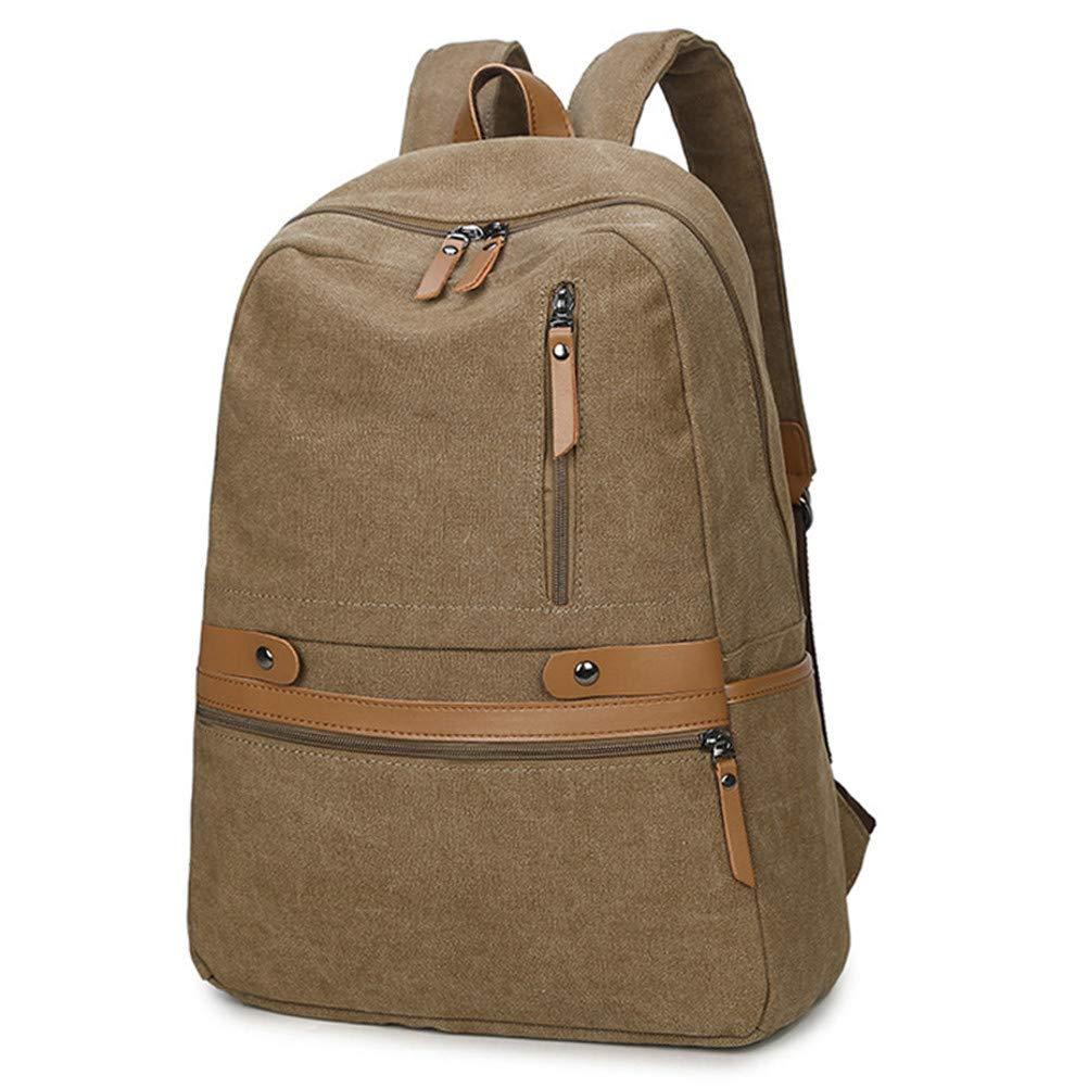 800728071d5e1 ... VHVCX Vintage Unisex-Laptop-Rucksack beiläufigen Männer Frauen-Segeltuch  Rucksäcke Schultasche für Jugendliche ...