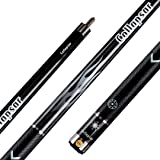 Cpllapsar COLLAPSAR R Series 58Inch 2-Pieces Maple Billiard Pool Cue Stick PU Grip