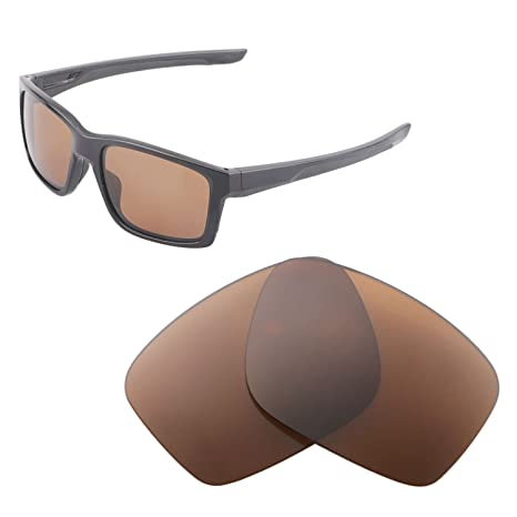 91d07f56b8 Walleva Replacement Lenses for Oakley Mainlink Sunglasses - Multiple  Options Available (Brown - Polarized)