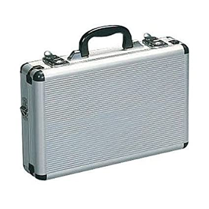 amazon com aluminum briefcase silver home improvement