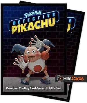 Pokémon E-15202 Ultra Pro-Detective Pikachu-Mr Mime - Fundas Protectoras (65 Unidades): Amazon.es: Juguetes y juegos