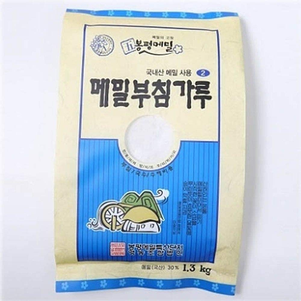 Bongpyeong Buckwheat Flour for Pancake 1.3kg (30% Buckwheat) Korean