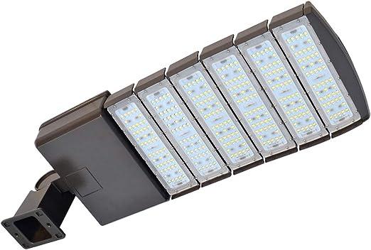 300Watt Led Shoebox Outdoor Parking Lot Light Commerical Security Area Lighting