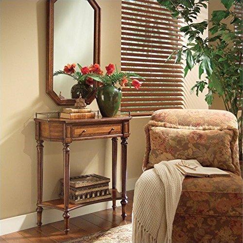 Single Foyer Table w Ornamental Rail