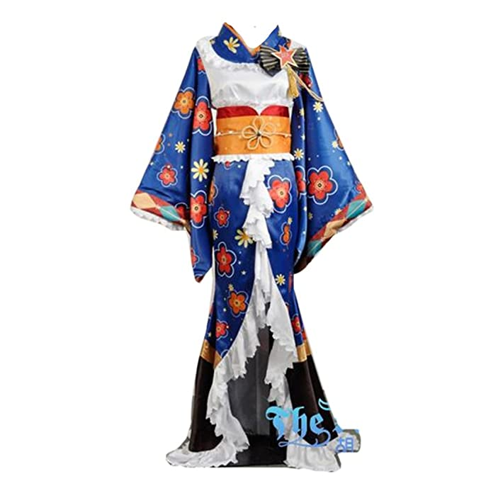 Amazon.com: Love Live Kimono Awaken Sonoda Umi Cosplay ...