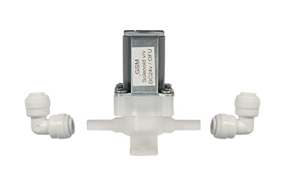 Health Zone RO System Plastic GSM Solenoid Valve for Water Purifiers (5 Inch, Grey) Water Purifier Accessories at amazon