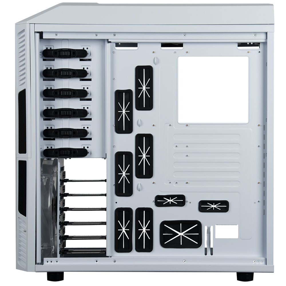 Rosewill Gaming ATX Full Tower Computer Case Cases THOR V2-W Black, white by Rosewill (Image #4)
