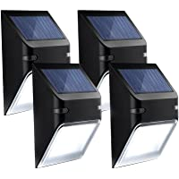Mpow Solar Lights, Wall Lamp Wireless Security Outdoor Lighting for Patio