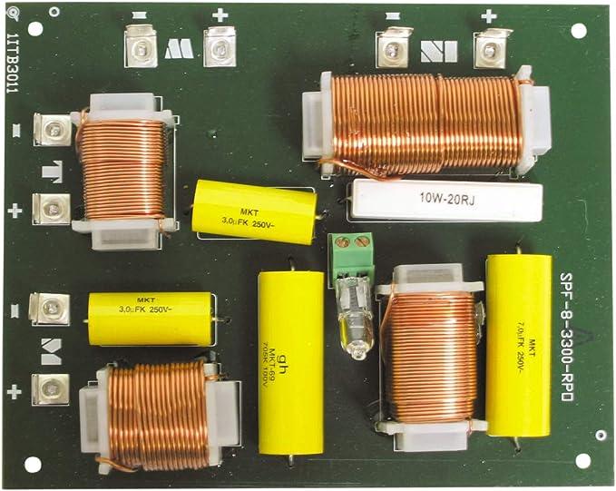 3 Wege 400w Weiche Frequenzweiche 12db 1000 6000hz Auto