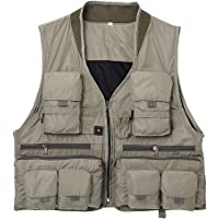 Lixada Fly Fishing Vest w/ 13-Pockets