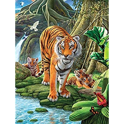 Sunsout Tiger Two Jigsaw Puzzle 500 Piece By Sunsout