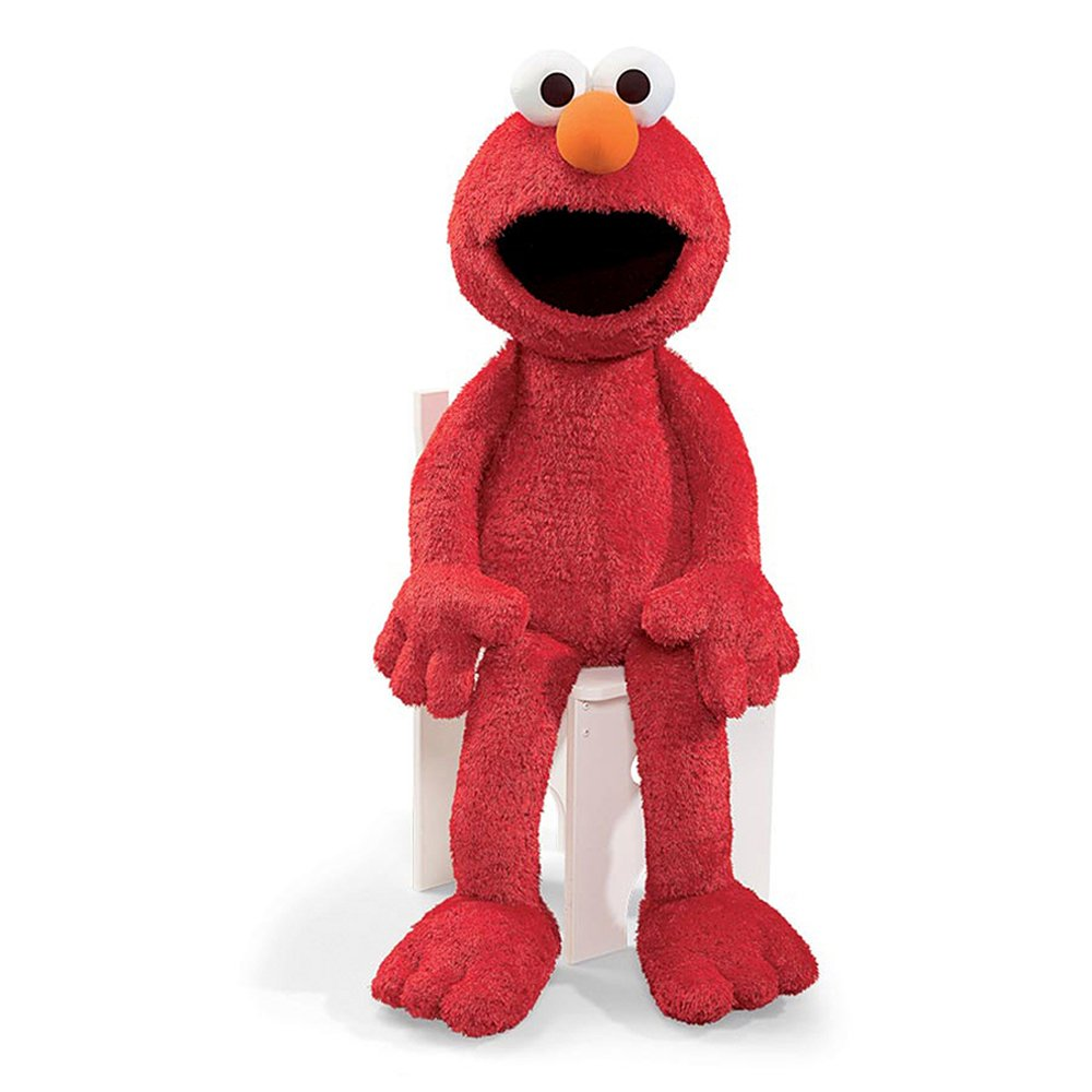 Gund Sesame Street Jumbo Elmo Stuffed Animal, 41 inches by GUND