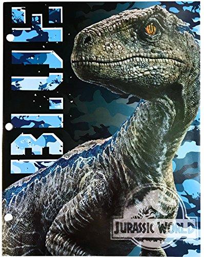 Jurassic World Two Pocket Portfolio Folders - Set of 2 by Tri-Coastal (Image #2)