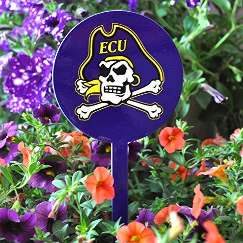 Authentic Street Signs NCAA East Carolina Pirates- ECU- Garden Decor - Decorative Metal Yard Stake, Indoor/Outdoor