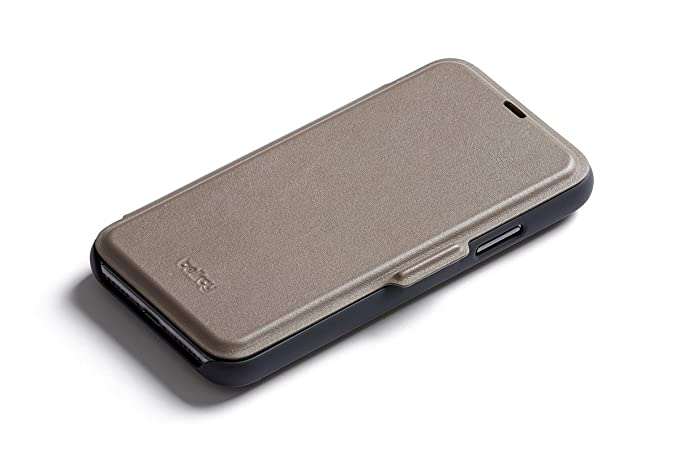 quality design aa740 c92a8 Bellroy Leather iPhone X Phone Wallet - Stone