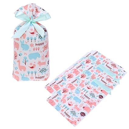 Toyvian Bolsas de regalo con cordón para caramelos, bolsas ...