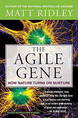 The Agile Gene: How Nature Turns on Nurture ebook