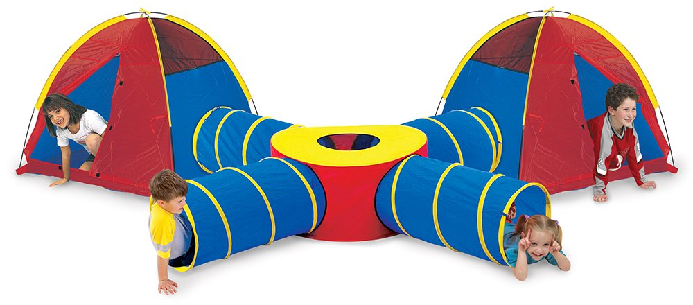 Amazon.com Pacific Play Tents Kids Tunnels of Fun Super Set - 2 Dome Tents 4 Tunnels and Tunnel Junction Toys u0026 Games  sc 1 st  Amazon.com & Amazon.com: Pacific Play Tents Kids Tunnels of Fun Super Set - 2 ...