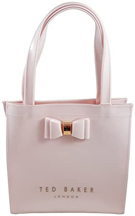 75071fafe0bcbd Ted Baker Small Icon Tote Bag in Nude Pink with Bow  Amazon.co.uk  Clothing