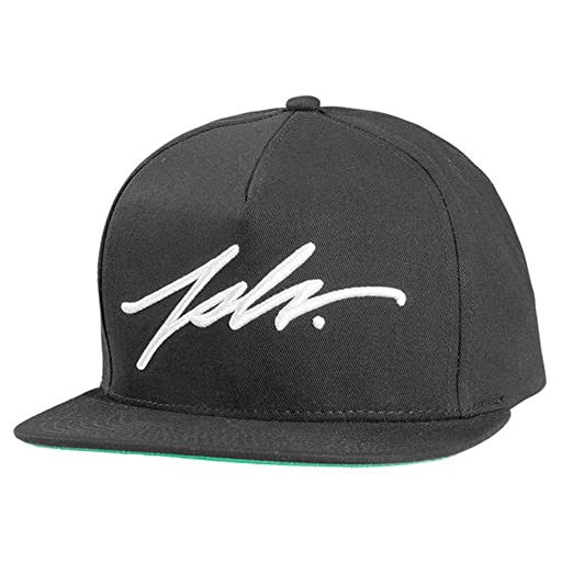 5cd65269d3d Image Unavailable. Image not available for. Color  JSLV Signature Snapback  Hat Black
